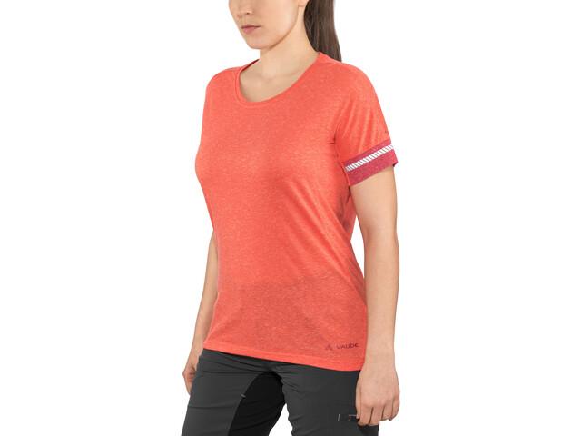 VAUDE Cevio T-Shirt Dam redcurrant